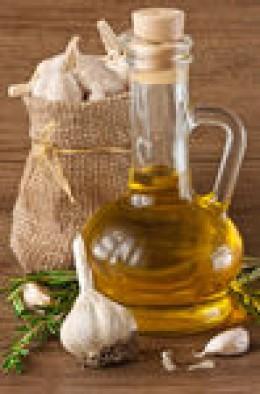 Garlic infused oil