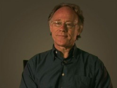 Author and investigator of ancient mysteries, Graham Hancock.