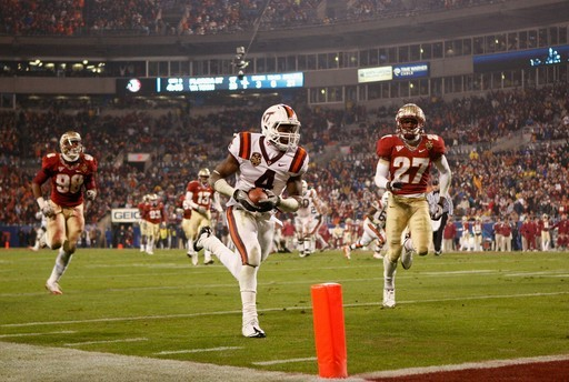RB David Wilson (Virginia Tech)