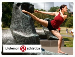 Lululemon Athletica is a clothing brand for yoga, work out and dance wear