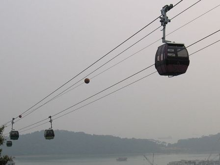 Cable Car to Mount Faber