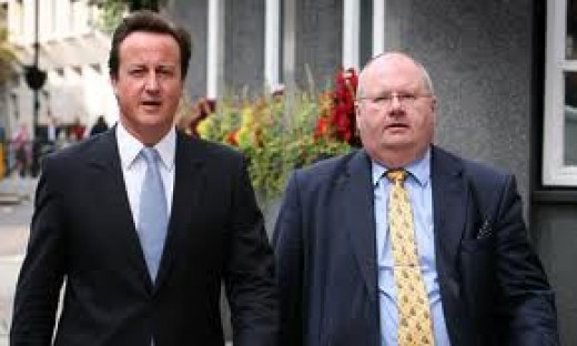 Cameron and Pickles.  Looks as if Pickles needs a better lifestyle himself, maybe pulling a caravan!