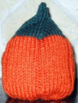 Child's Version Of The Pumpkin Hat