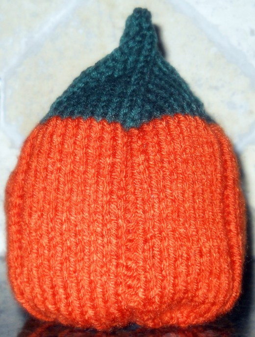 Child's Version Of The Pumpkin Hat