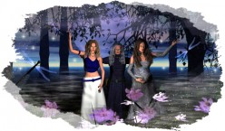 Triple Moon Goddess Symbols