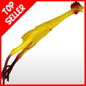 One of the true classics of prank gifts...the Rubber Chicken star of stage, screen and many crockpots. Lots of fun.
