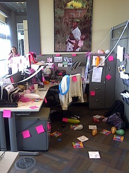 Perfect Office Birthday 60 Birthday Birthday Ideas Pizza Ranch Office Prank