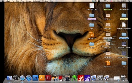 This is screen capture of my desktop on my Mac, it took less than a minute to take and upload.
