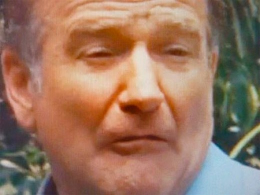 What other movie did Robin Williams Make this face?  If you guessed all of them, then everyone loses.