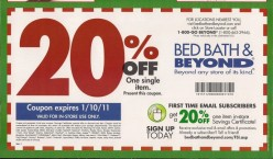 How to Find Bed Bath and Beyond Coupons