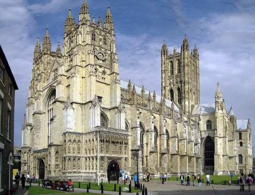 Anglican - Canterbury Cathedral by Hans Musil GNU Free Documentation License