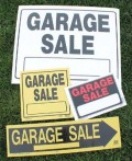 Setting Up a Garage Sale