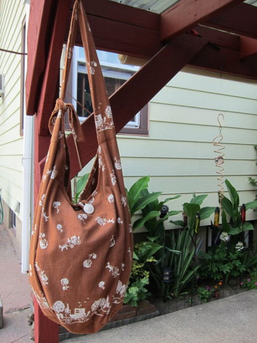 Made-to-order Brown Hobo Bag for $15!