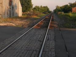 No gates, no lights, no bells to announce an approaching train.