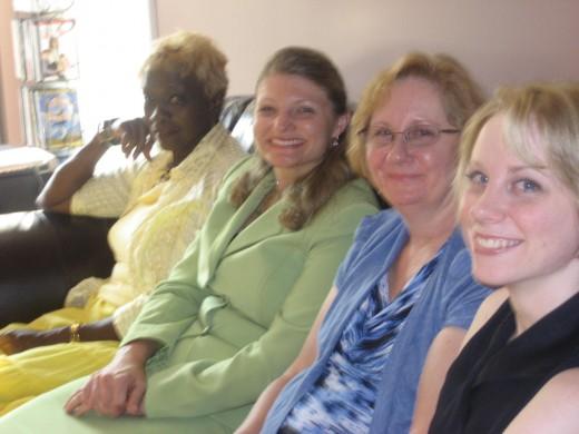 Clara, Brook, Patty, and Jennifer