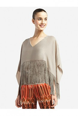 Iniko Flutter-Sleeved Top by BCBGMAXAZRIA