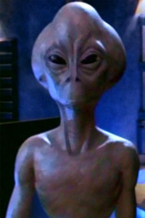 Average alien appearance in the eyes of most people
