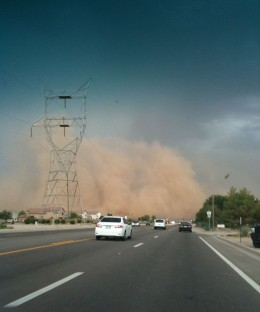 Another haboob in Phoenix, AZ