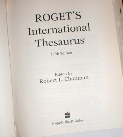 How to Use Roget's Thesaurus