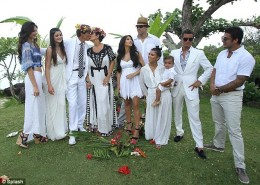 Kardashians in Bora Bora