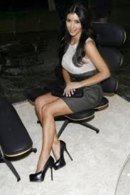Kardashian Heels on Kim Kardashian Beyonce Wearing Sexy Spikes With Platform High Heels