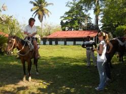 Horseback-riding in the Dominican Republic