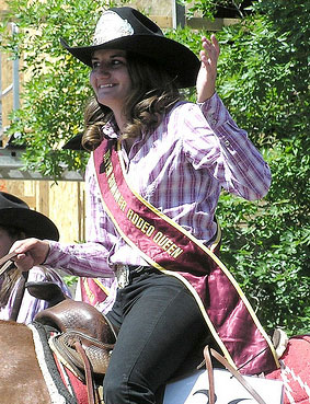 Triumphant as a Rodeo Star - but alas was short-live ;o)