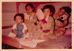 Me with Popeye and my first batch of siblings :)