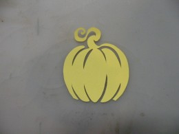 Large yellow pumpkin