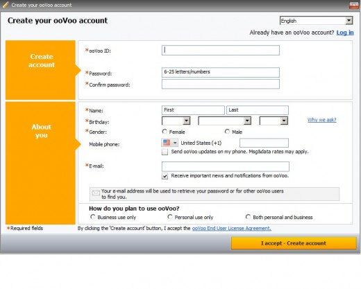 ooVoo Sign Up - ooVoo Login Account / Create ooVoo account