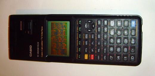 Casio VI-9850GB Graphic Calculator with tv interface
