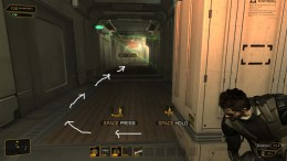 Deus Ex Human Revolution Bypass the Security Camera, remember to take out the guard first