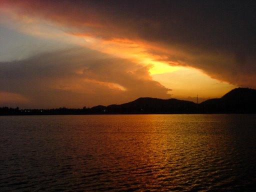 Khao Tao Reservoir, Thailand