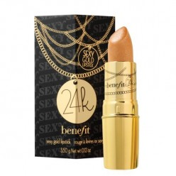 As the packaging says, that's a sexy gold lipstick! It's a twist on mocha that's perfect for blondes and those with smaller lips.