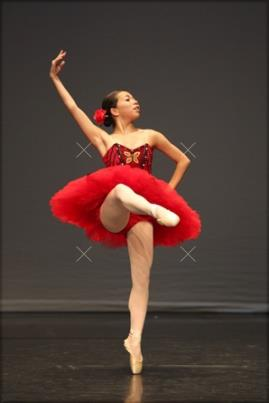 Shaina doing her Pequita variation.