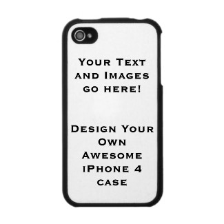 Design-your-own custom iPhone, iPod, or iPad Speck case at Zazzle.com