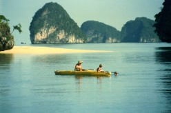 Sea Canoeing in Southern Thailand