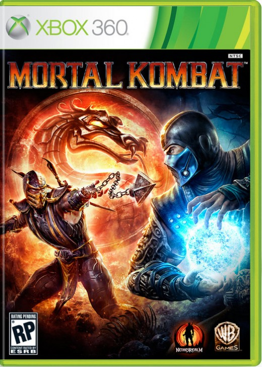 Mortal Kombat Retail Xbox Edition Raiden Vs Shao Kahn