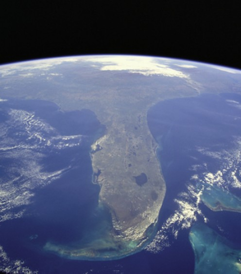Florida from space: Now Choose a College!!