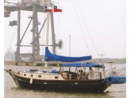 A 36ft masthead sloop, a full ten feet longer than Aebi's boat.