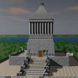 What the Mausoleum is is believed to have appeared