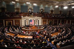 Joint sessions occur when both the House of Representatives and Senate meet together in one session in the house of Representatives.
