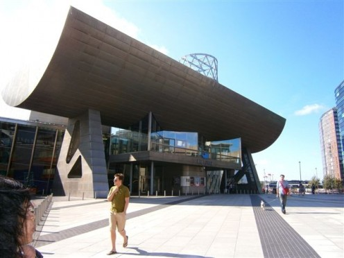 The Lowry, where the competition took place.
