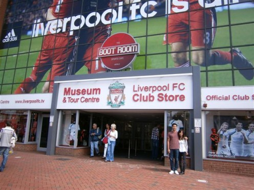 If you're a soccer fan, you may even willingly forgo the fish and chips and tour the liverpoool stadium and then lose yourself in the store that sells nothing but soccer paraphernalia.