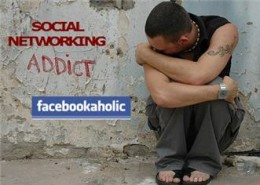 An image i found on the web about addiction to facebook, very creative!