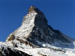 We Stood Beneath the Matterhorn - a Love Poem