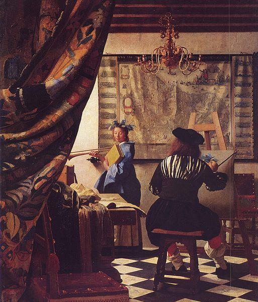 The art of painting by Vermeer