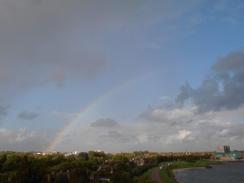 Rainbow above Hoorn