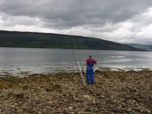 Shore fishing can be a great way of getting away from it all and enjoying the peace and quiet of the great outdoors