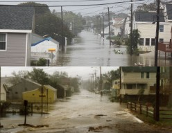 Tropical Storm Irene vs. Hurricane Gloria a Photo Comparison! Milford, CT